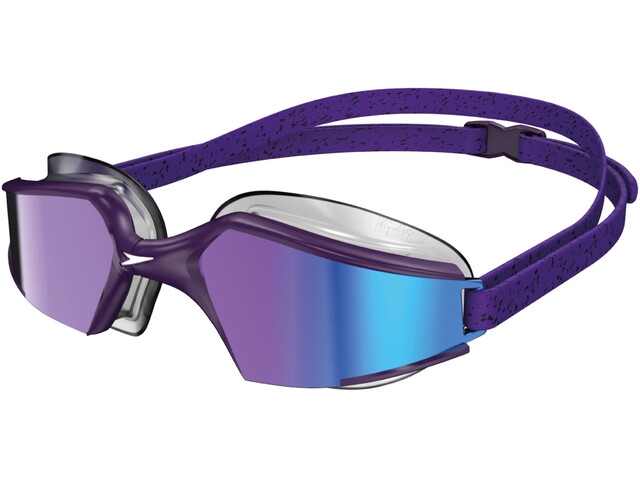 speedo Aquapulse Max Mirror V3 Goggles, purple/purple